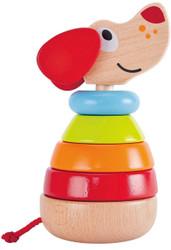 Hape Pepe Rainbow Stacker