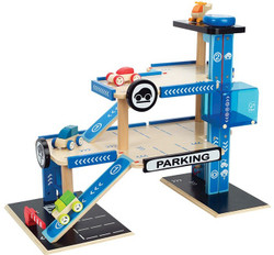 Hape Wooden Car Park Toy Garage
