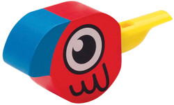 Hape Bird Whistle-red