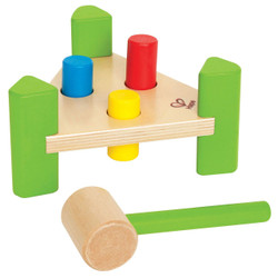 Hape Mini Pound a Peg Toy