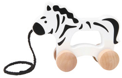 Hape Push and Pull Zebra