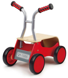 Hape Little Red Rider Ride On Toy - Front