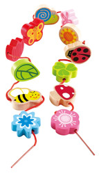 Hape Lacing Spring Cubes
