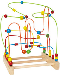 Hape Original Super Marble Wooden Bead Maze