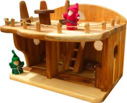 Qtoys Mini Eco Dollhouse set