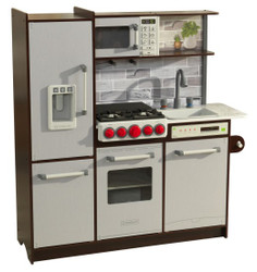 Ultimate Elite Espresso Play Kitchen EZ Assembly