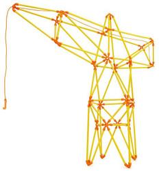 Hape Flexistix Truss Crane Set