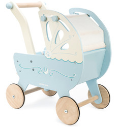 Le Toy Van Moonlight Wooden Doll Carriage Set