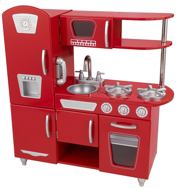 kidkraft retro kitchen red on sale cheapest prices online fast