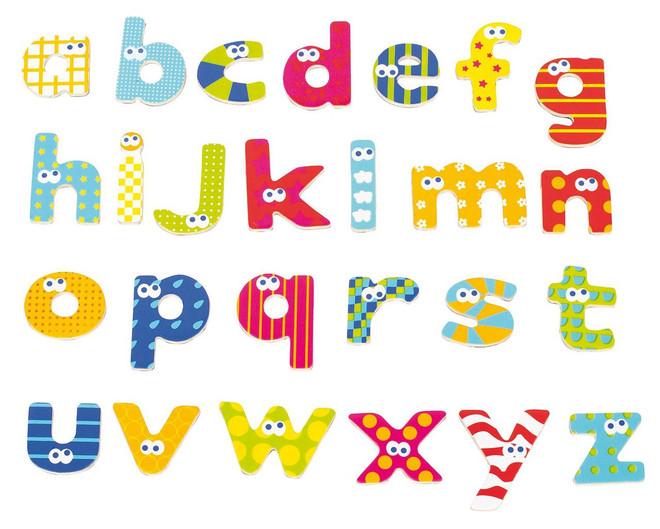 Lower Case Alphabet Bath Letters