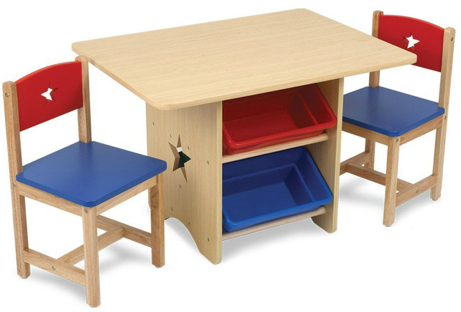 Kidkraft Star Table \u0026 2 Chair Set - Primary  sc 1 st  Kind to Kidz & Kidkraft Star Table \u0026 2 Chair Set - Primary on Sale! Cheap Prices ...