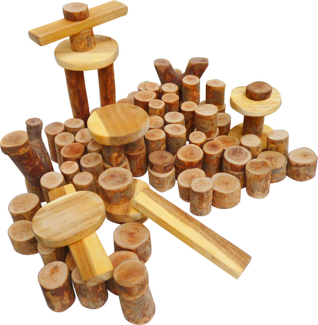 Tree Blocks 106 pcs on Sale! Cheapest Prices Online