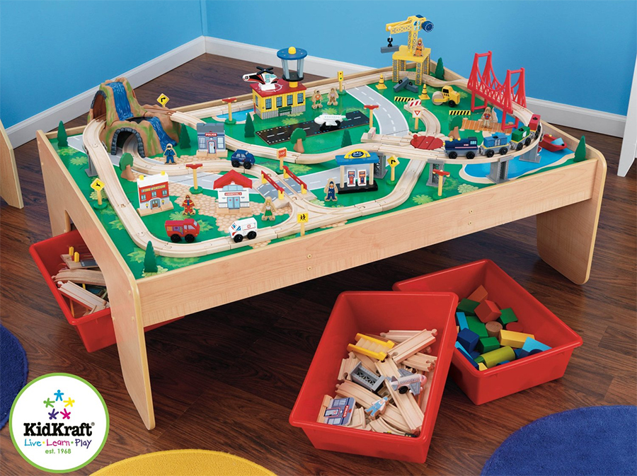Train Table Lego Table | Modern Coffee Tables and Accent Tables