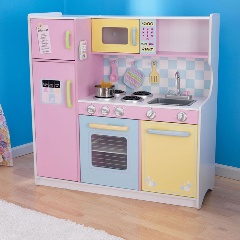 Kidkraft Large Pastel Kitchen On Sale Now Cheapest