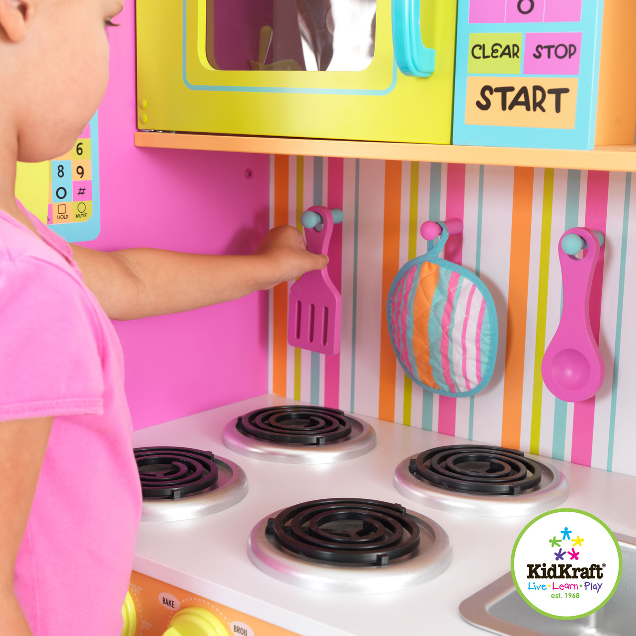 Kidkraft Big Amp Bright Kitchen On Sale Now Sydney Pickup