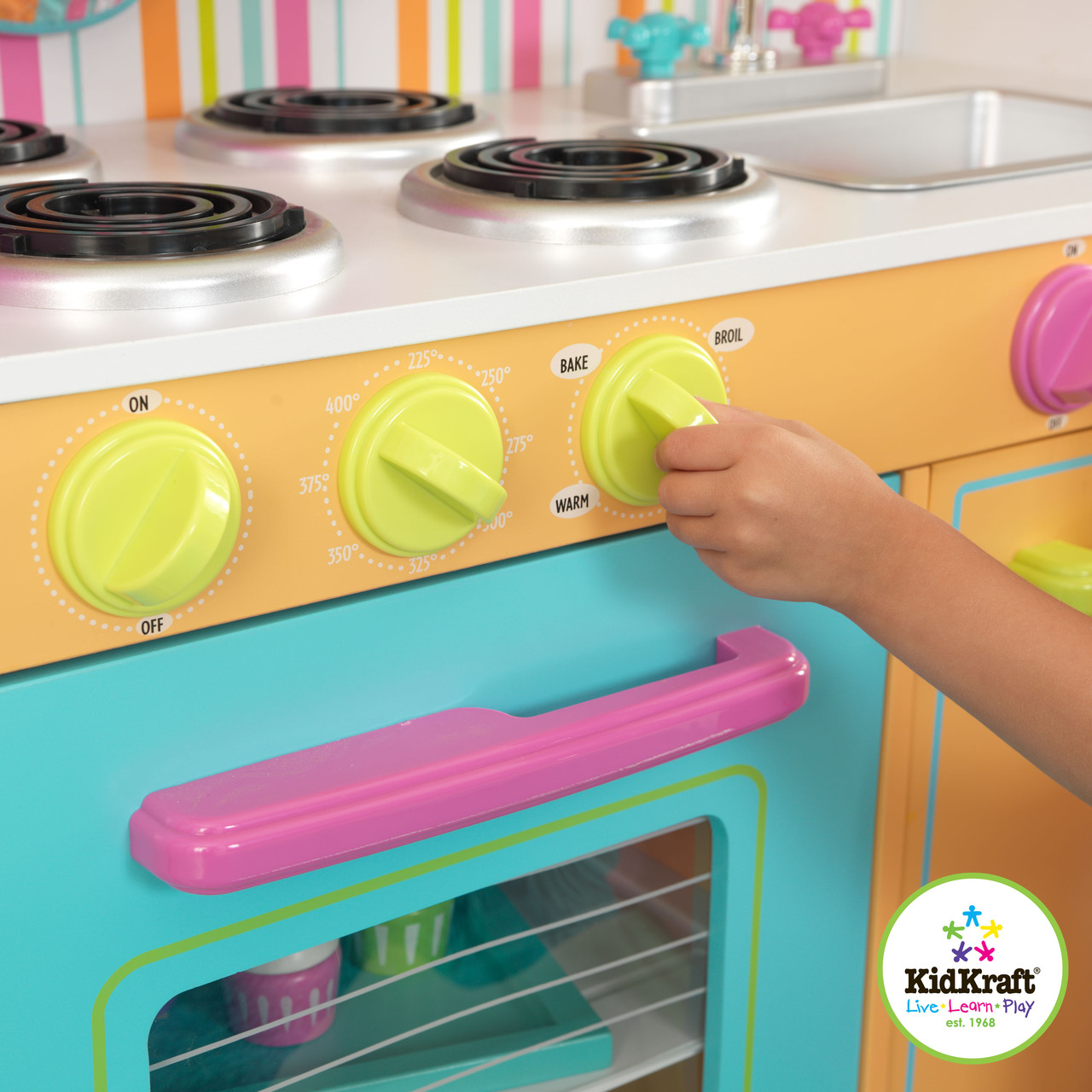 KidKraft Big & Bright Kitchen -On Sale Now! Cheapest Prices Online ...