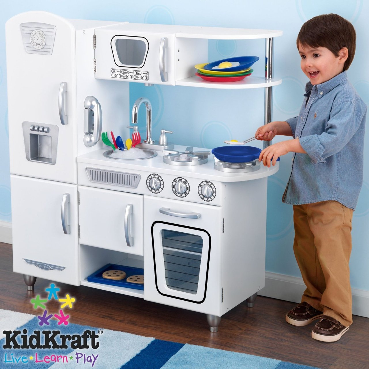 KidKraft White Vintage Kitchen on Sale Now! Fast Shipping Australia Wide
