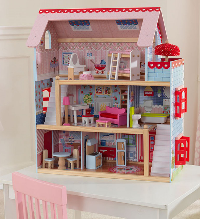 Kidkraft Chelsea Doll Cottage On Sale Now Fast Shipping