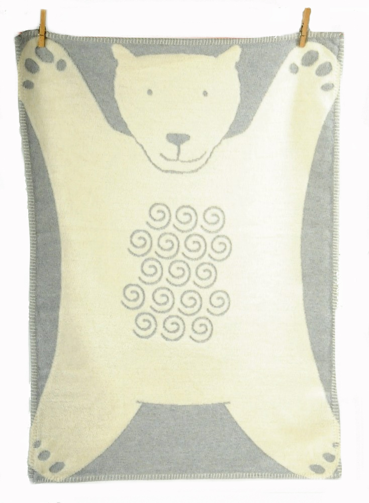 david fussenegger bear cot blanket on sale free shipping. Black Bedroom Furniture Sets. Home Design Ideas