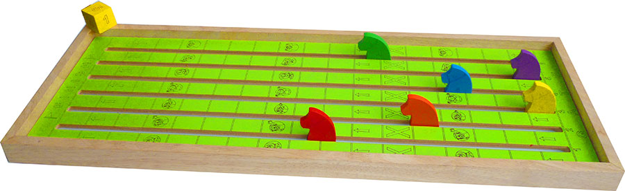 Wooden Horse Racing Game Fast Shipping New Wooden Horse Racing Game
