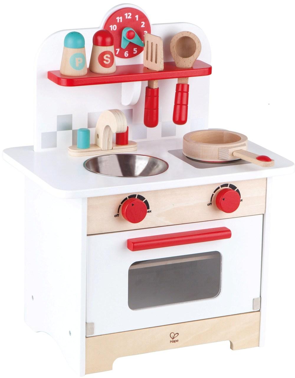 Hape Mini Retro Kitchen on Sale! | Play Food & Kids Kitchen Sets