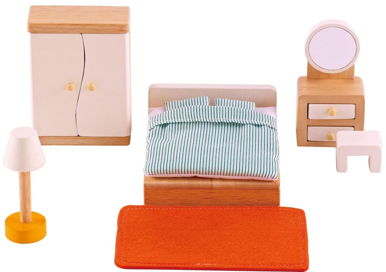 Hape All Seasons Doll Furniture - Master Bedroom on Sale ...