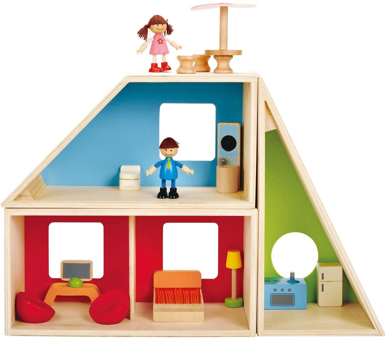 Hape Geometrics House on Sale! | Doll Houses, And Dollhouse Furniture