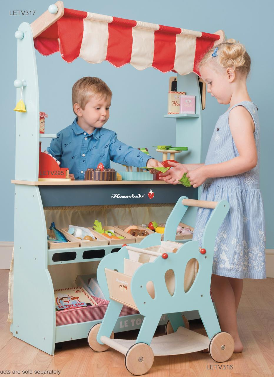 Le Toy Van Reversible Toy Shop | Quality Kids Gifts Australia Wide