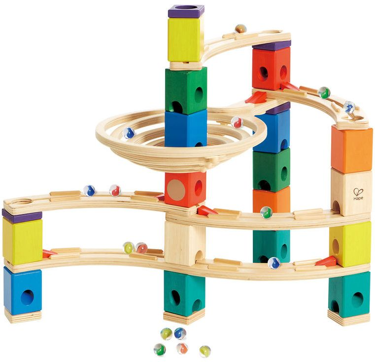 Quadrilla Whirlpool Set Wooden Marble Run Save Up To