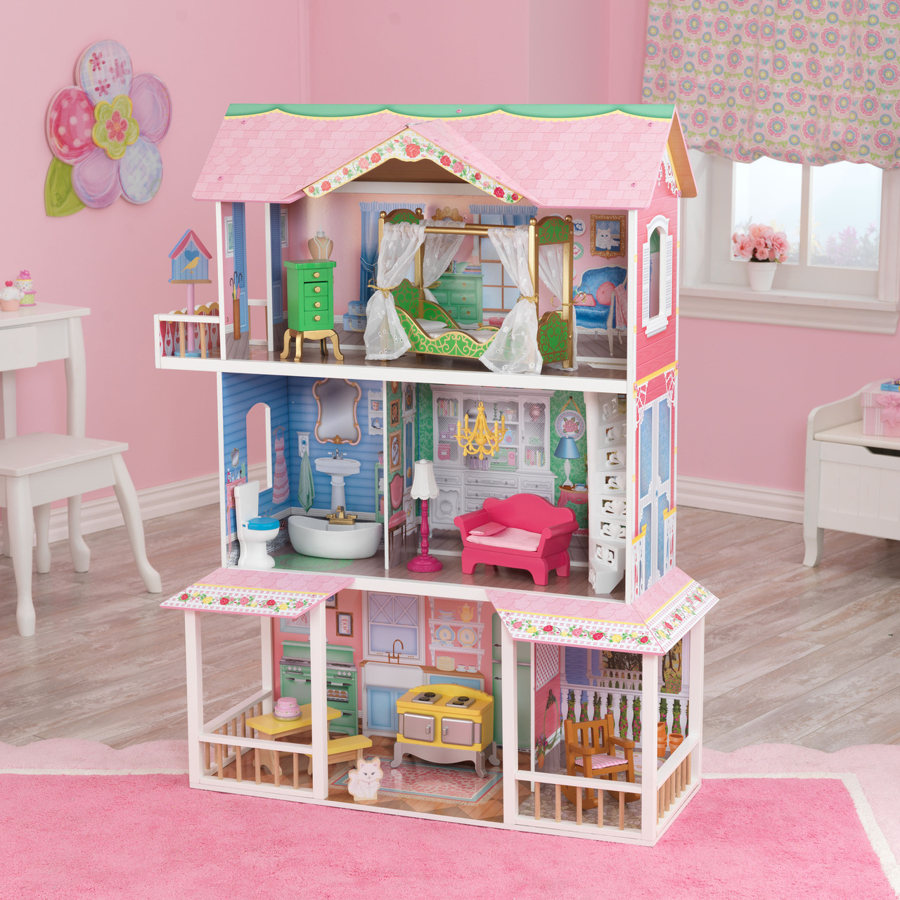 Kidkraft Sweet Savannah Dollhouse On Sale Cheap Prices