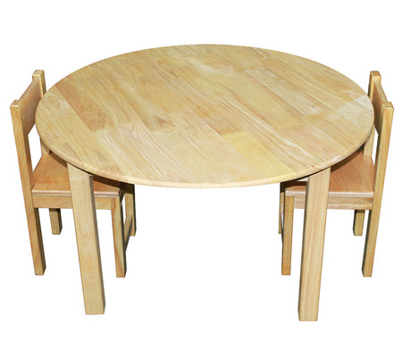 Qtoys Natural Wooden Round Children S Table On Sale Fast