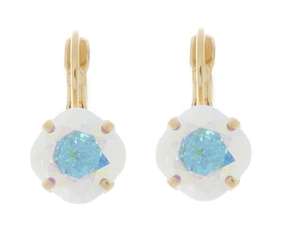 Children's 10mm Dangle Earrings Gold