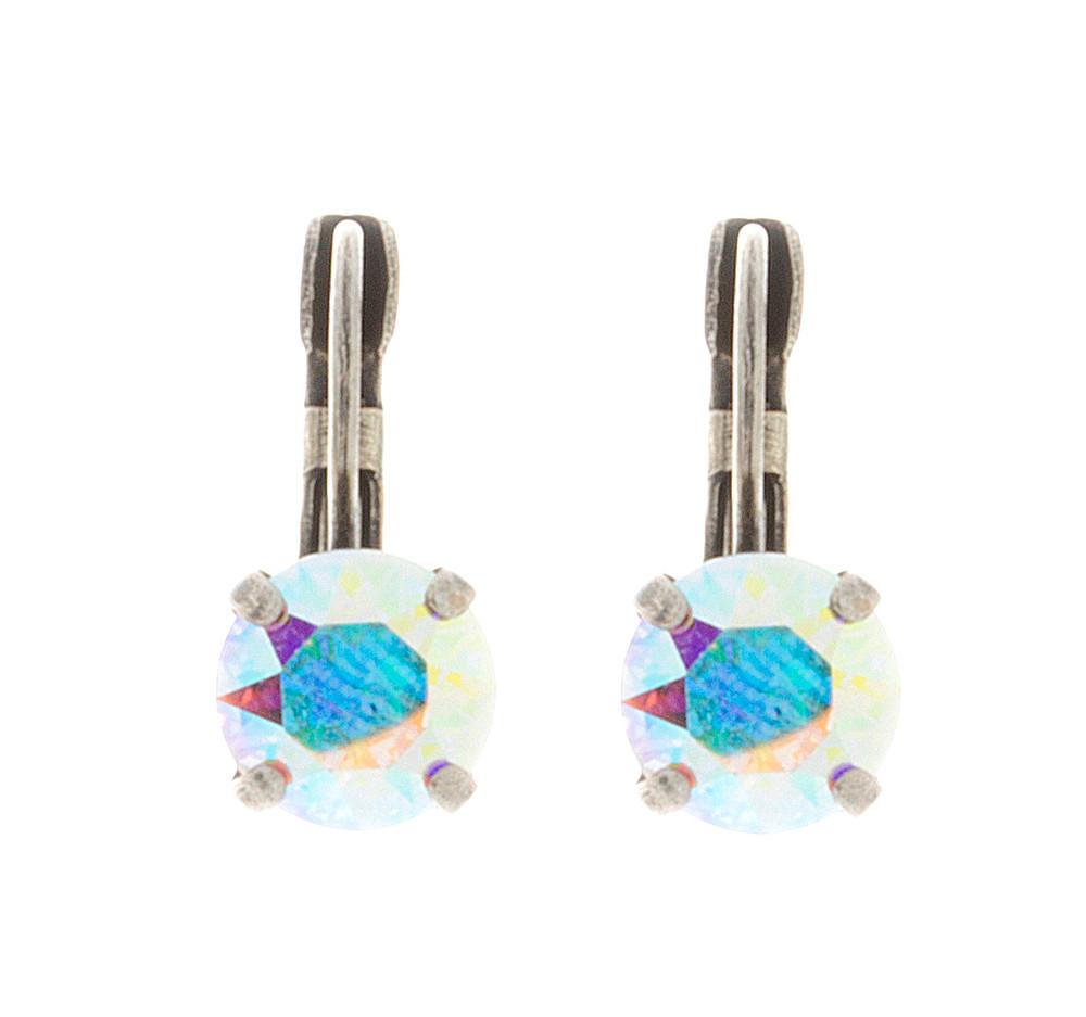 Children's 8mm Dangle Earrings Silver