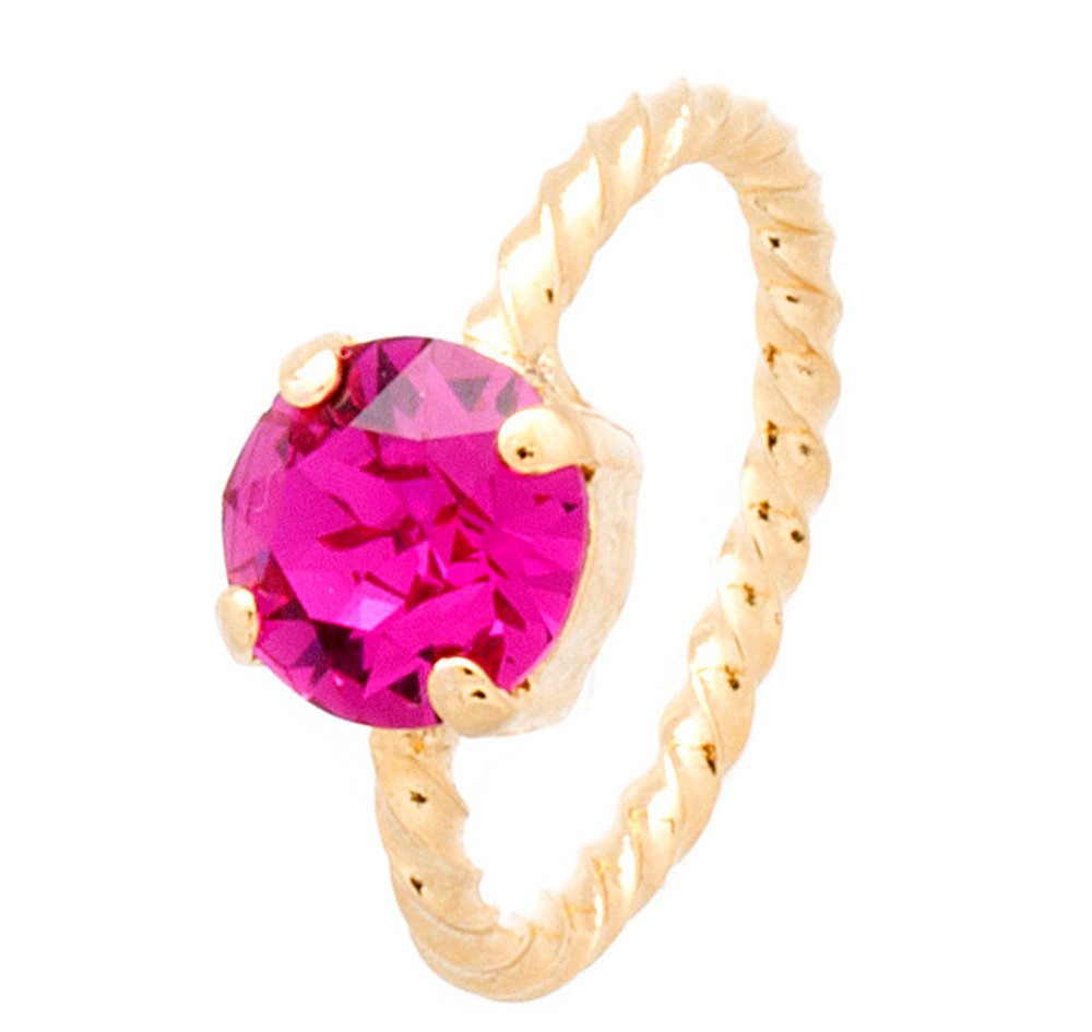 Rope Ring 8mm Gold
