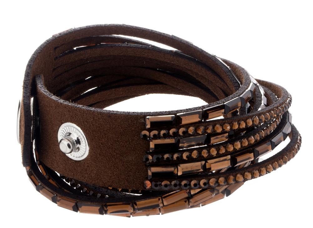 Snap Bracelet - Brown