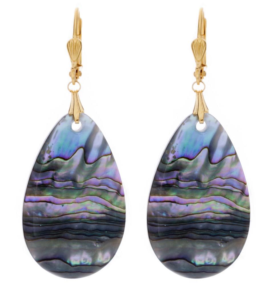 Sea Shell - Ovals - Earrings