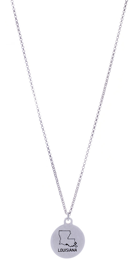 Louisiana Necklace - Silver