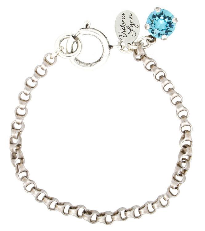 8mm Rollo Silver Bracelet