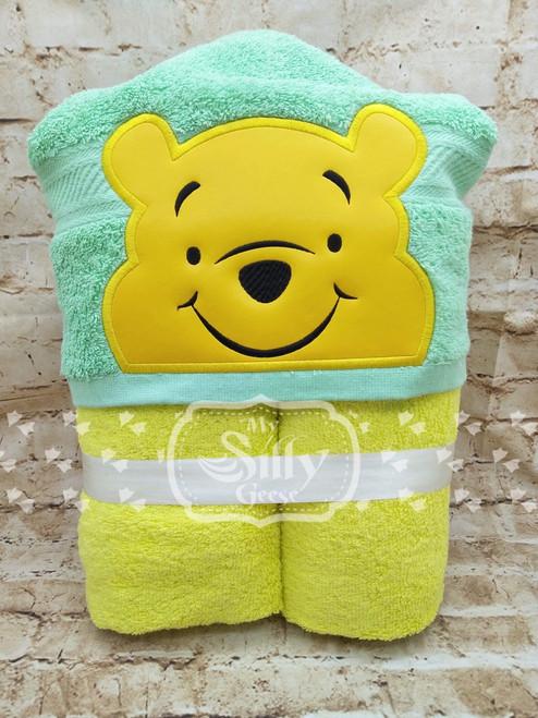 5x7 Silly Bear Peeker