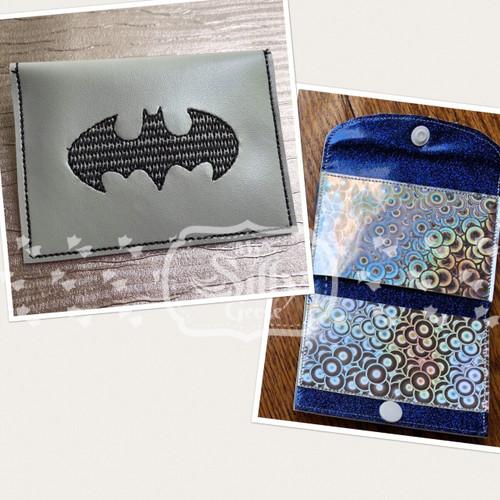 5x7 Wallet Bat Hero