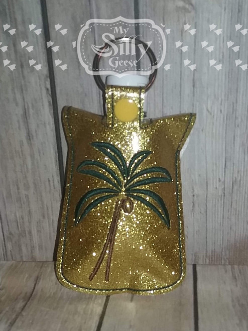 5x7 Sanitizer Case Palm Tree