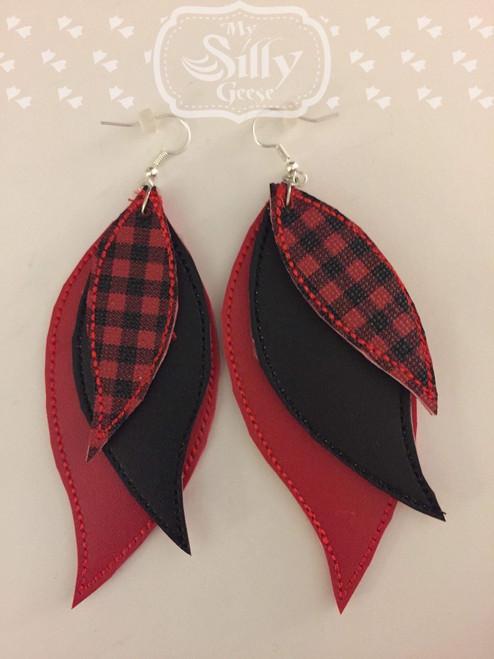 5x7 Feather Earrings