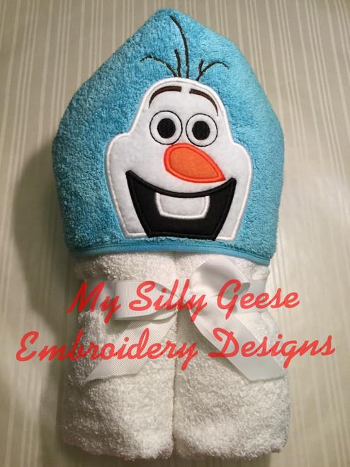 4x4 Silly Snowman Peeker