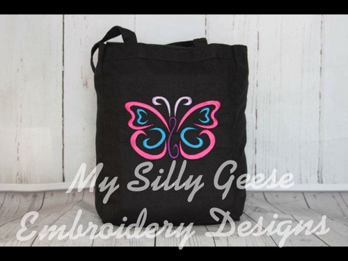 4x4 Butterfly Satin