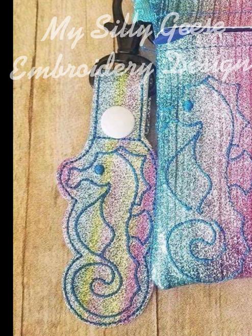 Key Chain Seahorse
