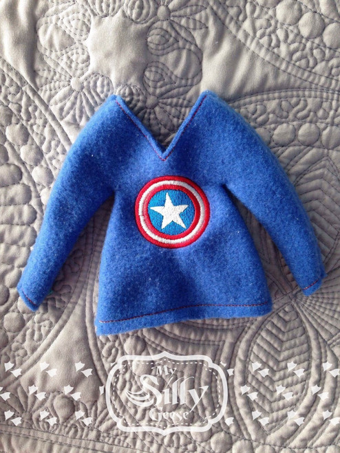 5x7 Elf Sweater American Hero