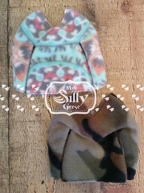 5x7 Elf Sweater Blank