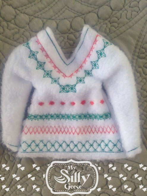 5x7 Elf Sweater Ugly