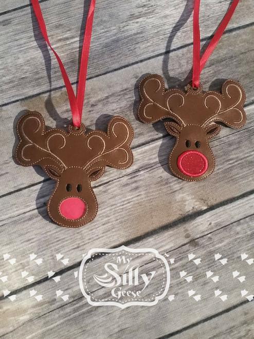 Ornament Reindeer Set