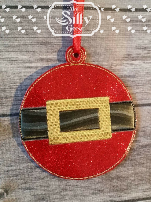 Ornament Santa Ball
